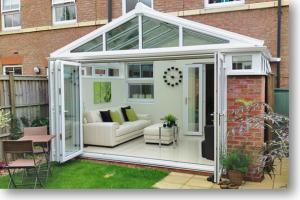 bifold conservatory doors