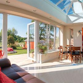 UPVC Bifold Doors For Home Conservatory Extensions