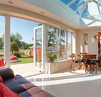 UPVC Bifold Doors For Home Conservtory Extensions